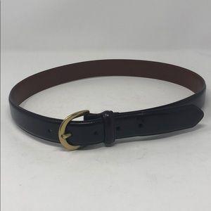 "Mens 30"" Coach Leather Belt"
